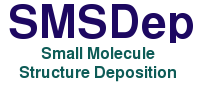 SMSDep Small Molecule Structure Deposition System (logo)